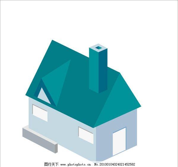 房屋 灯光 屋顶 房子 建筑 自然风景 自然景观 矢量 cdr