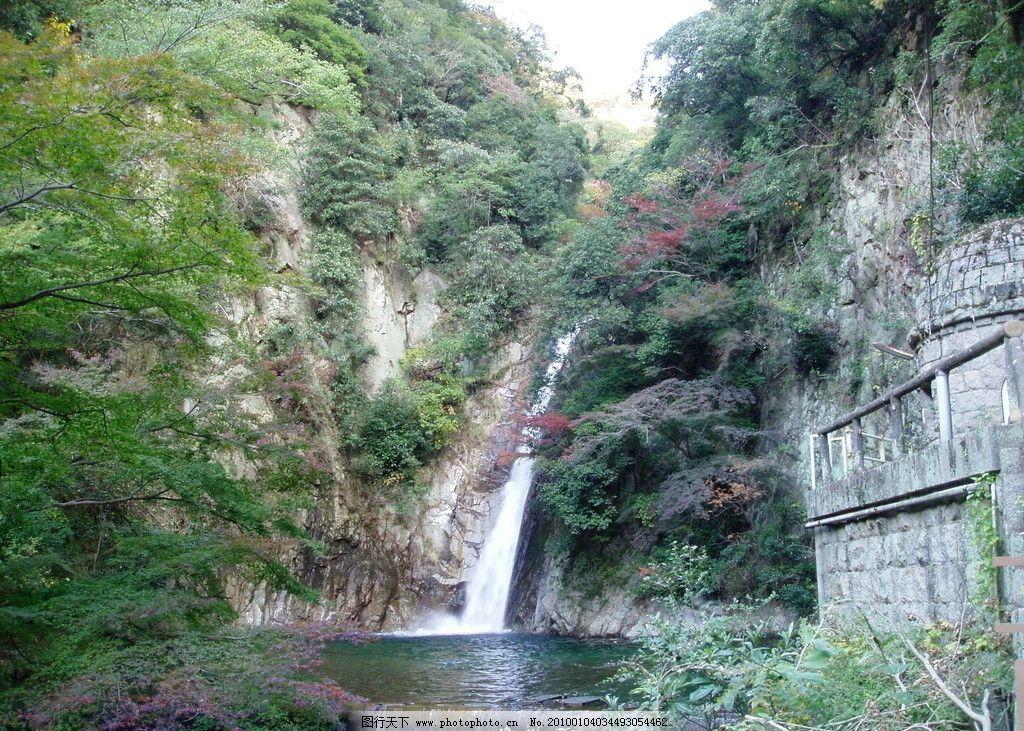 岛屿 大海 小溪 溪流 瀑布 河流 山水风景 自然景观 摄影 144dpi jpg