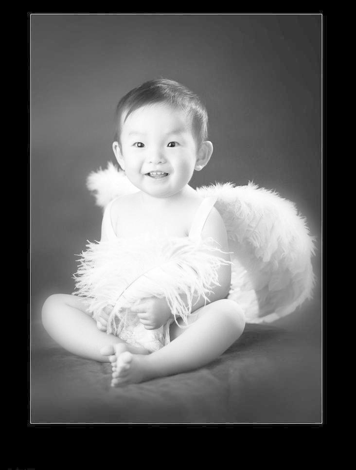 宝宝 儿童 儿童幼儿 可爱宝宝照 人物图库 摄影 天使翅膀 可爱宝宝照