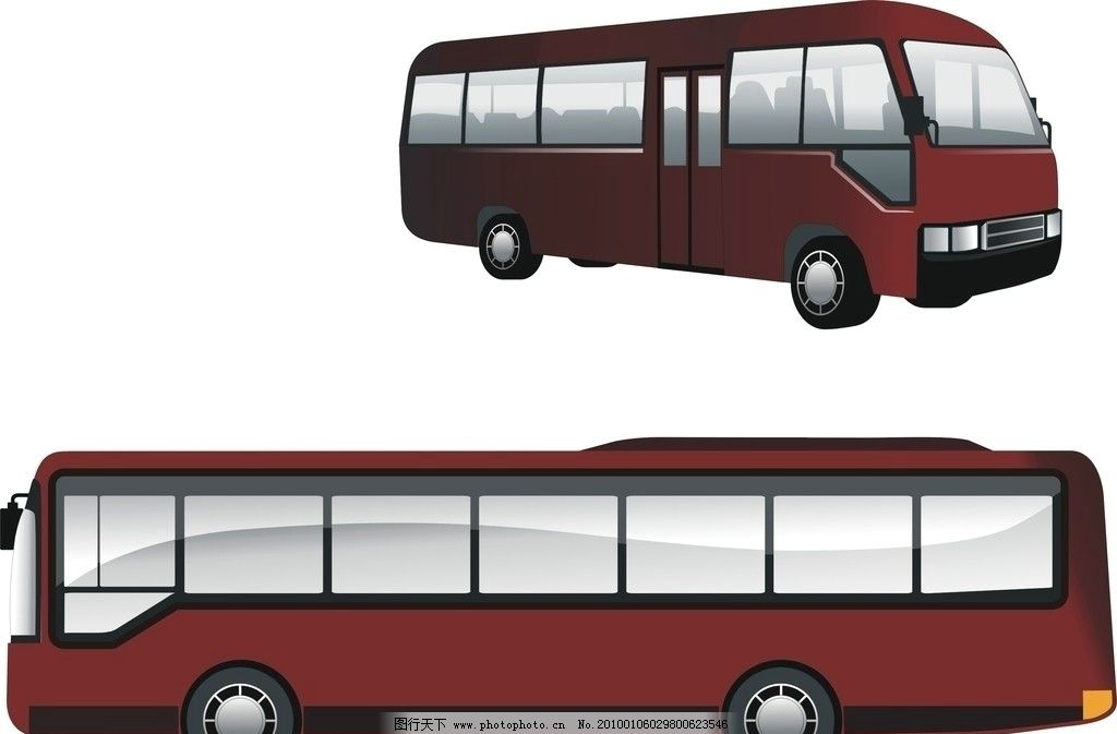 汽车 公车 vi 企业用车 大巴 设计 vi设计 广告设计 矢量 cdr
