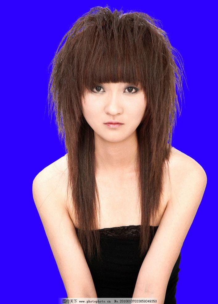 美女发型 扣好了的发型 灬艺术灬 源文件图片