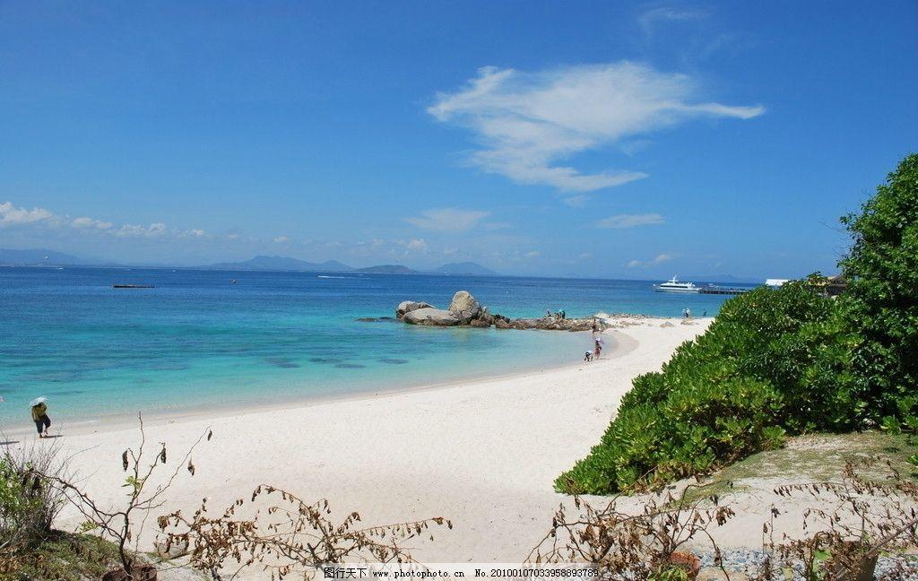 海南岛的蜈支洲岛图片