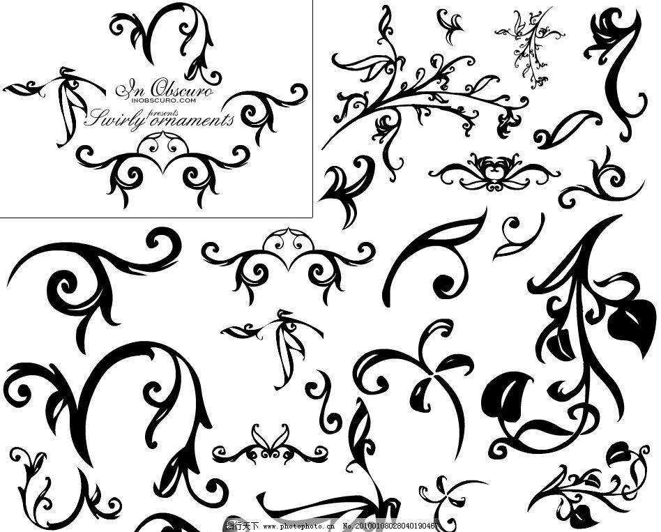花纹ps笔刷 灰色背景 纸张 圆珠笔 涂鸦 手绘 底纹 装饰 漂亮