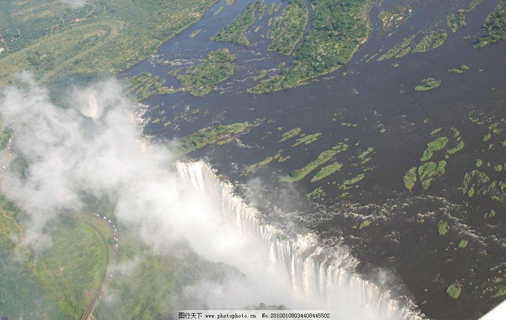 瀑布 水 山 漂亮风影 雾茫茫 升气 自然风光 山水风景 自然景观 摄影