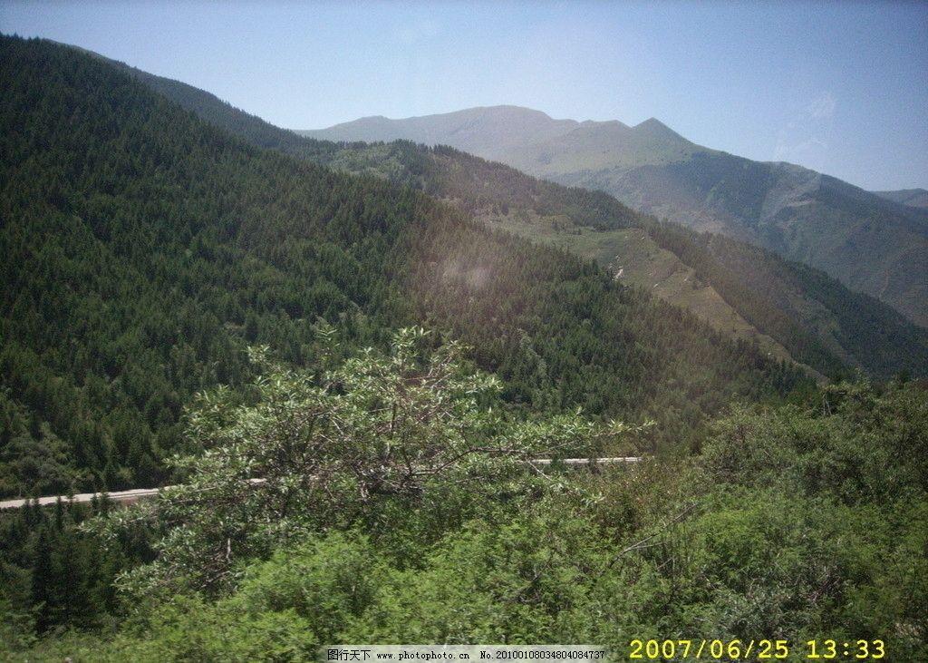 山路 五台山 野外风景 自然风景 自然景观 摄影