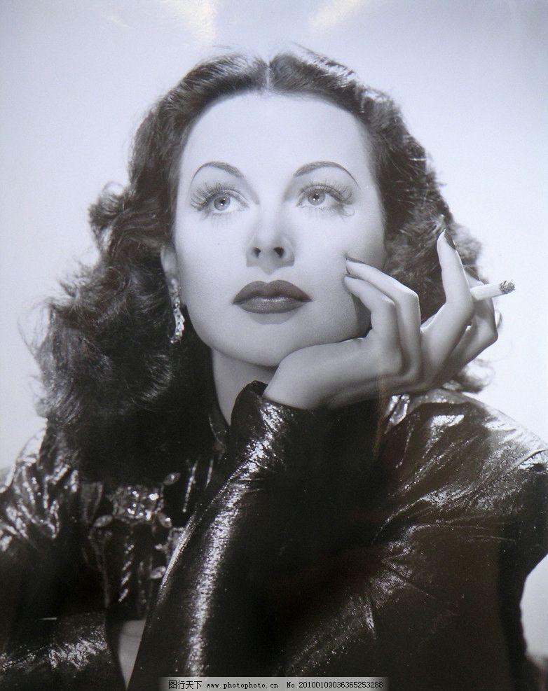 海蒂拉玛 好莱坞 经典 黑白 美女 天后 巨星 传神 气质 优雅 风范