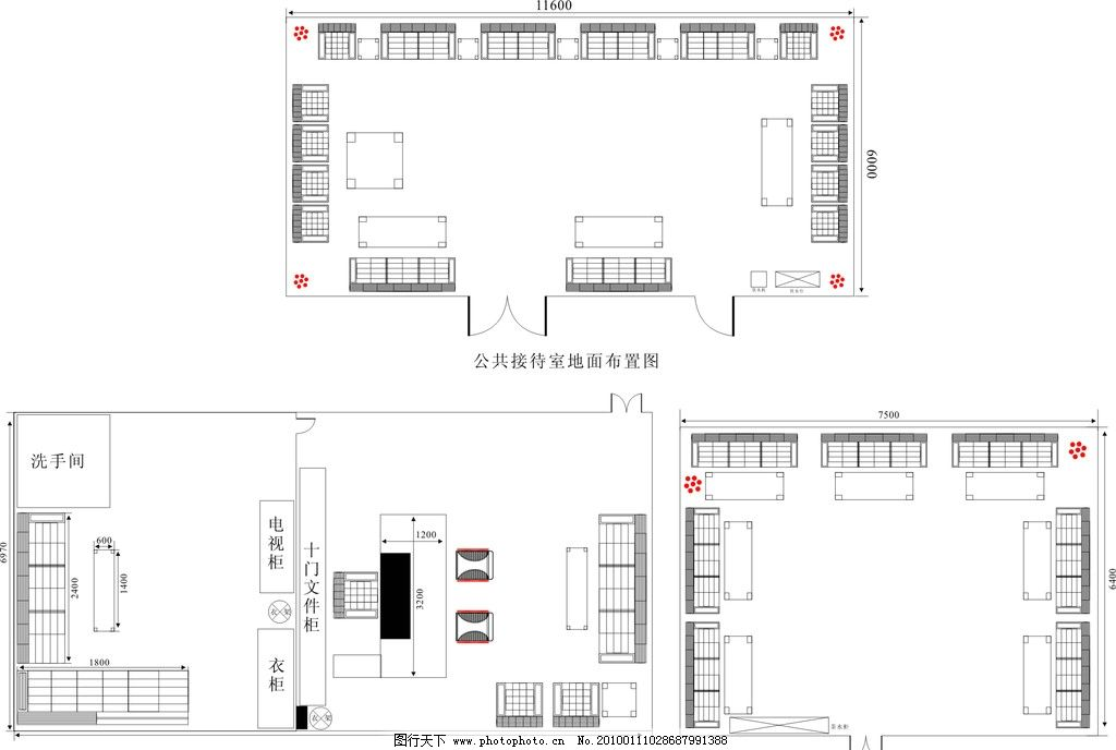 室内平面图 室内 平面 沙发 桌子 数字 茶几 衣柜 家居家具 建筑家居