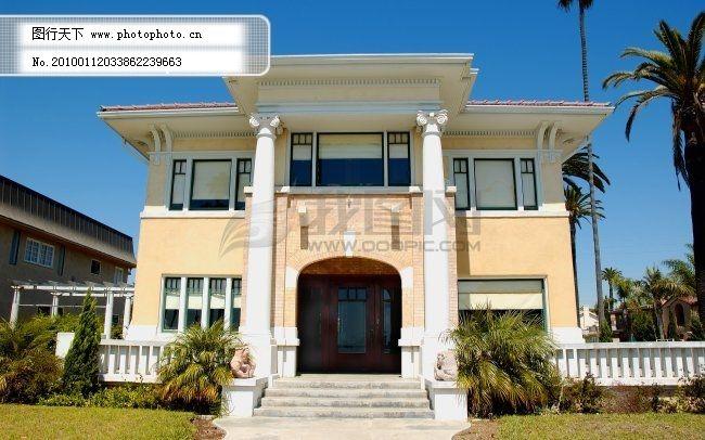 国外别墅免费下载 别墅 房子 国外 豪宅 建筑 外国 屋子 外国 国外