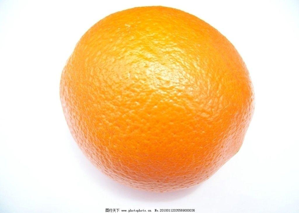 橙子 橙 orange 香橙 水果 fruit 黄色 黄水果 摄影图库 生物世界 jpg