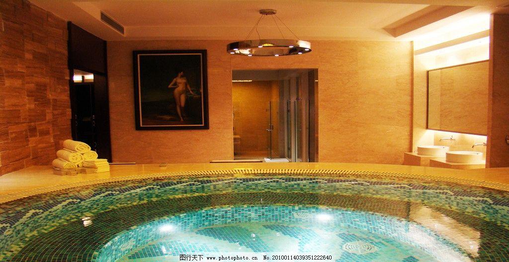 休闲场所 国际会所 高级场所 高档场所 摄影图库 女宾 男宾 水池 游泳