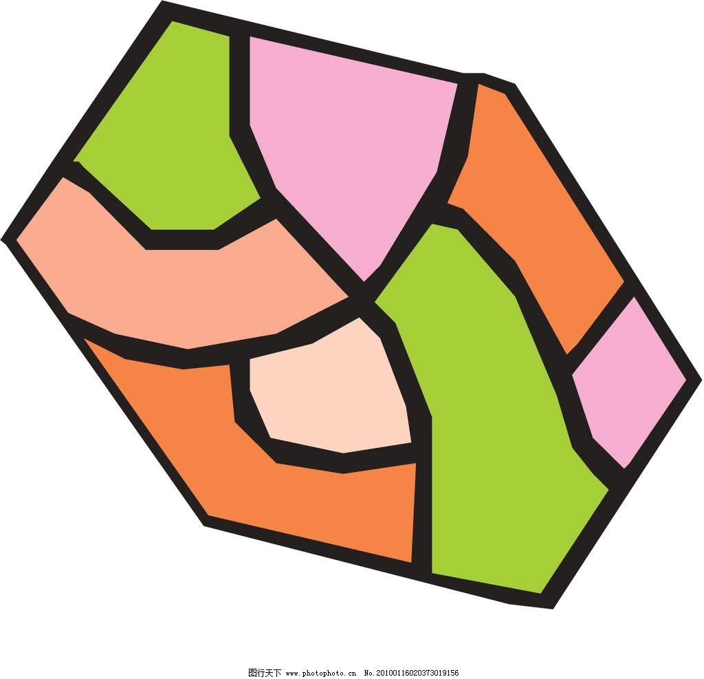 六边形色块 花边 花纹 边框 风筝 六边形 花边花纹 花纹花边 底纹边框