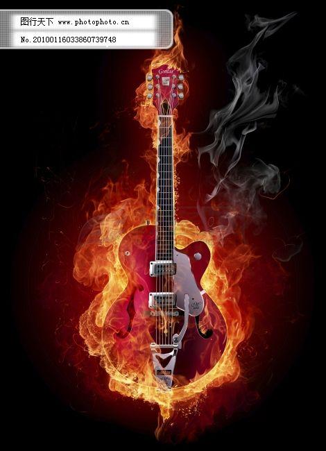 吉他酷炫qq头像