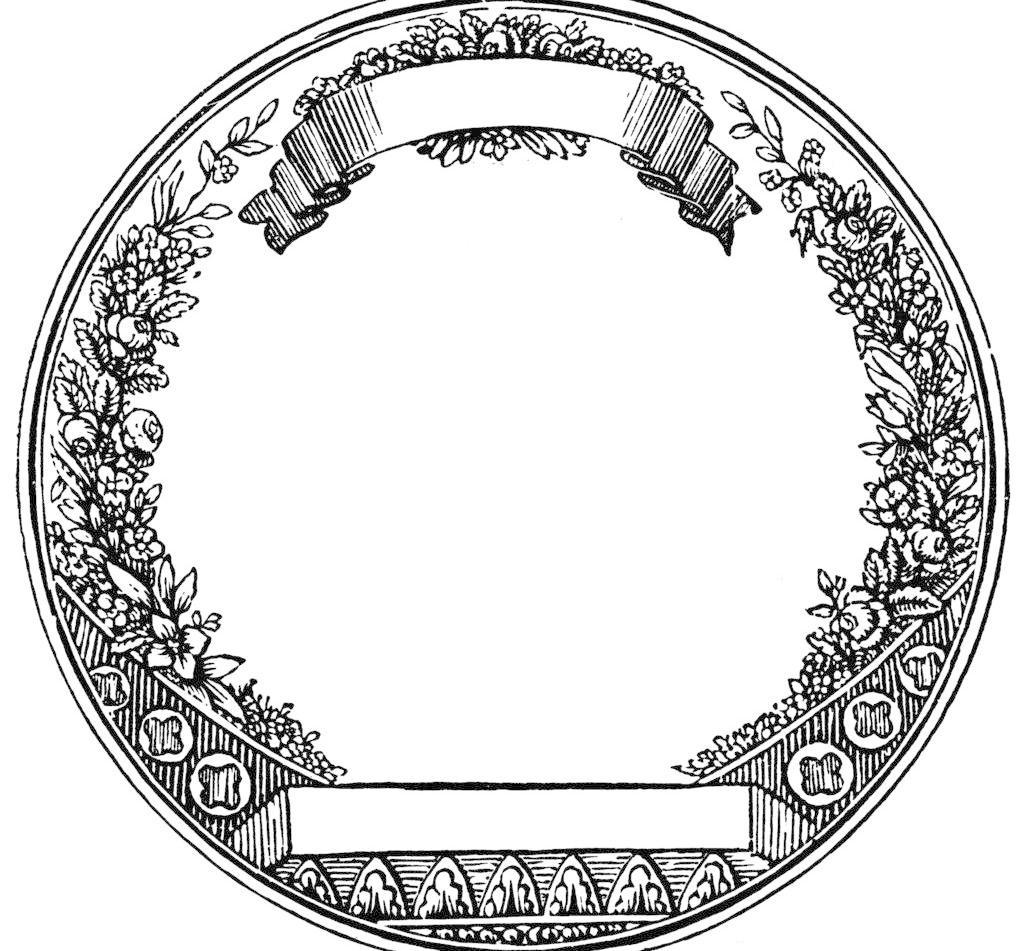 png 底纹边框 复古 花边花纹 华丽 欧式 设计 图腾 外框 圆形 欧式