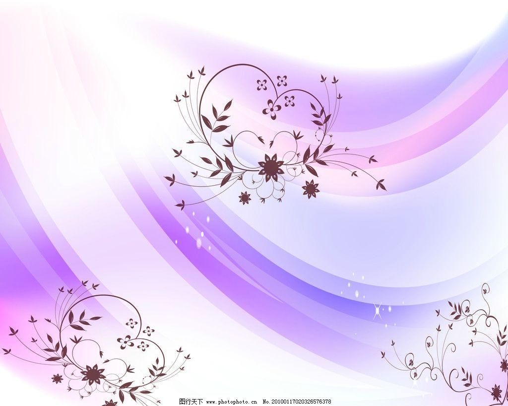 紫线花纹 紫色 梦幻 花纹 移门 背景 花边花纹 底纹边框 设计 72dpi