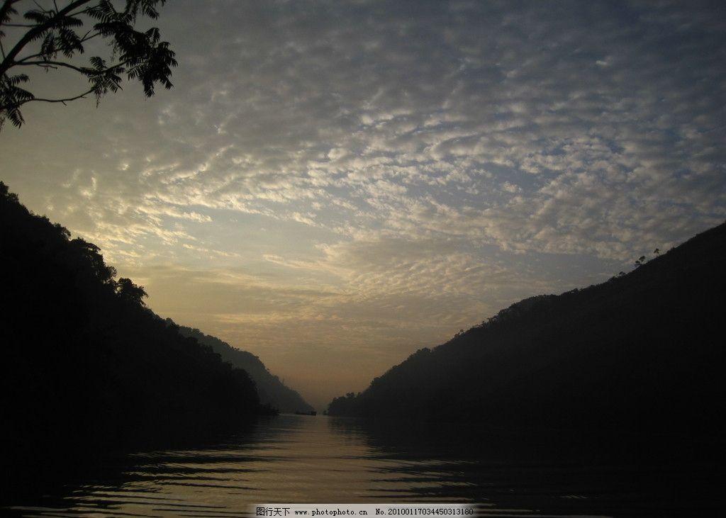 宜宾月江河 山水 山水风景 自然景观 摄影