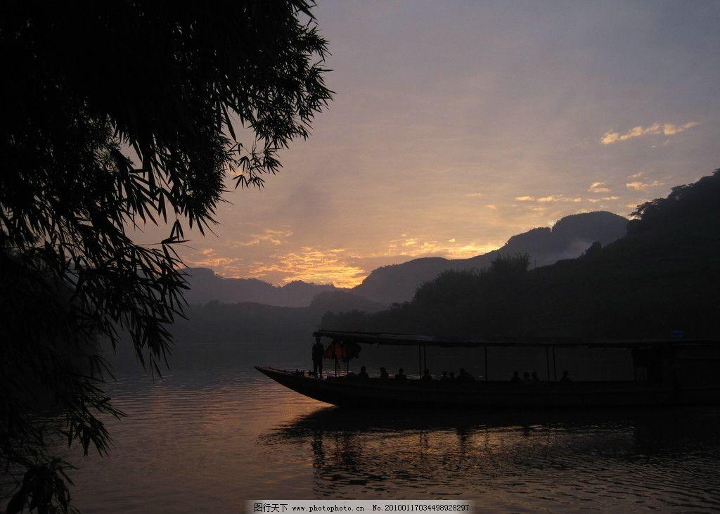 宜宾月江河 宜宾 月江河 山 水 船 晨光 山水风景 自然景观 摄影 180