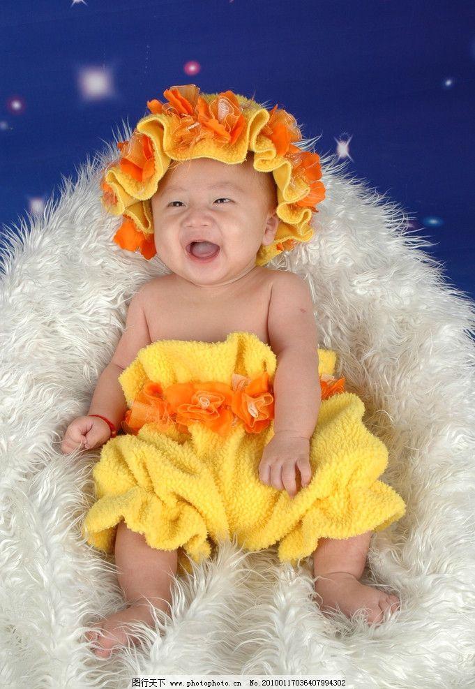 可爱宝宝 可爱宝贝 戴帽子的小宝贝 漂亮宝贝 儿童幼儿 人物图库 摄影