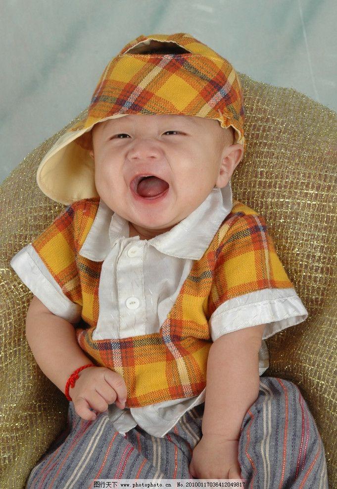 可爱宝宝 小宝贝 戴帽子的小宝贝 漂亮宝贝 儿童幼儿 人物图库