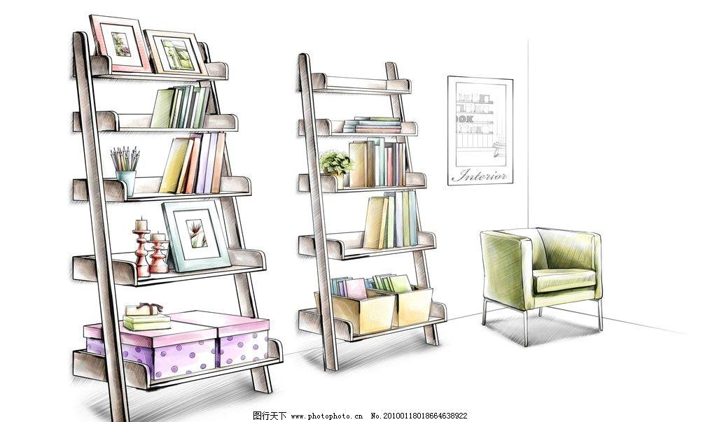 手绘家居 手绘室内家居 室内设计 动漫 卡通 家居设计 室内装修