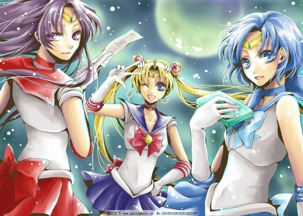 美少女 月光 战士 少女 可爱 卡通人物 日本 动漫 动漫人物 动漫动画