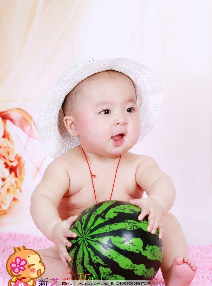 儿童摄影 小西瓜 小男孩 小可爱 儿童照 儿童幼儿 人物图库