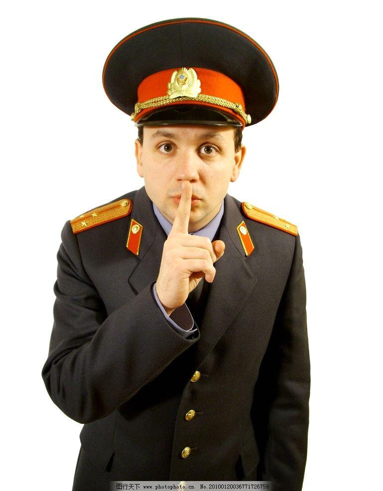 男人 警察 外国 可爱 嘘 说话 眼睛 男性男人 人物图库 摄影