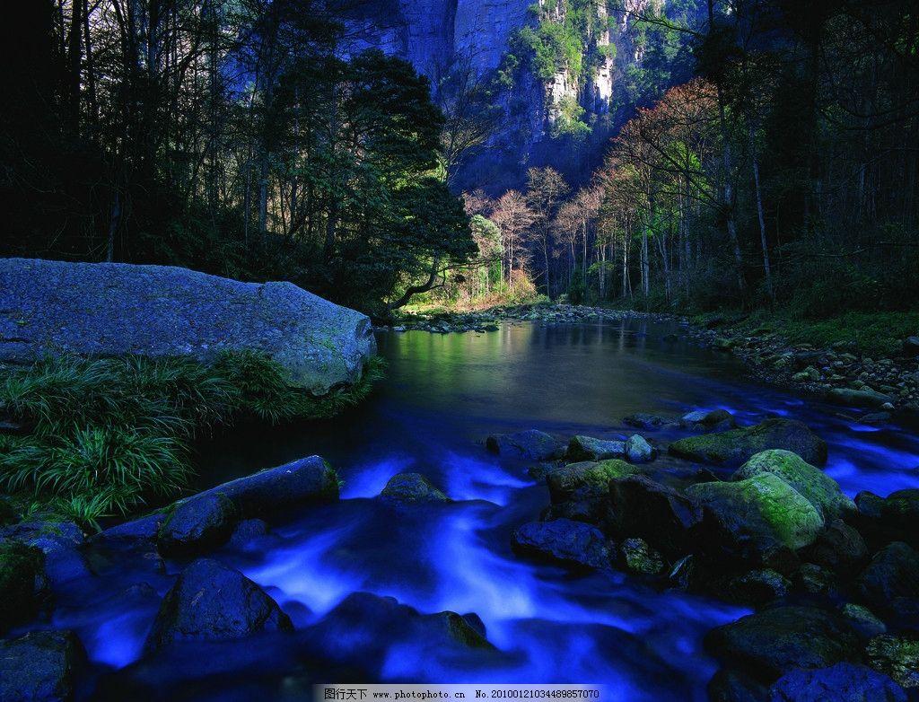 张家界风景 金鞭溪 自然山水 小溪 湘西风景 张家界金鞭溪 摄影