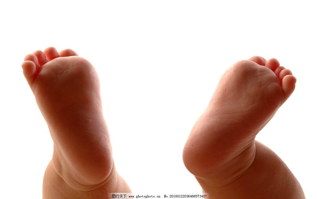 小脚丫 可爱的百天宝宝 儿童幼儿 人物图库 摄影 300dpi jpg