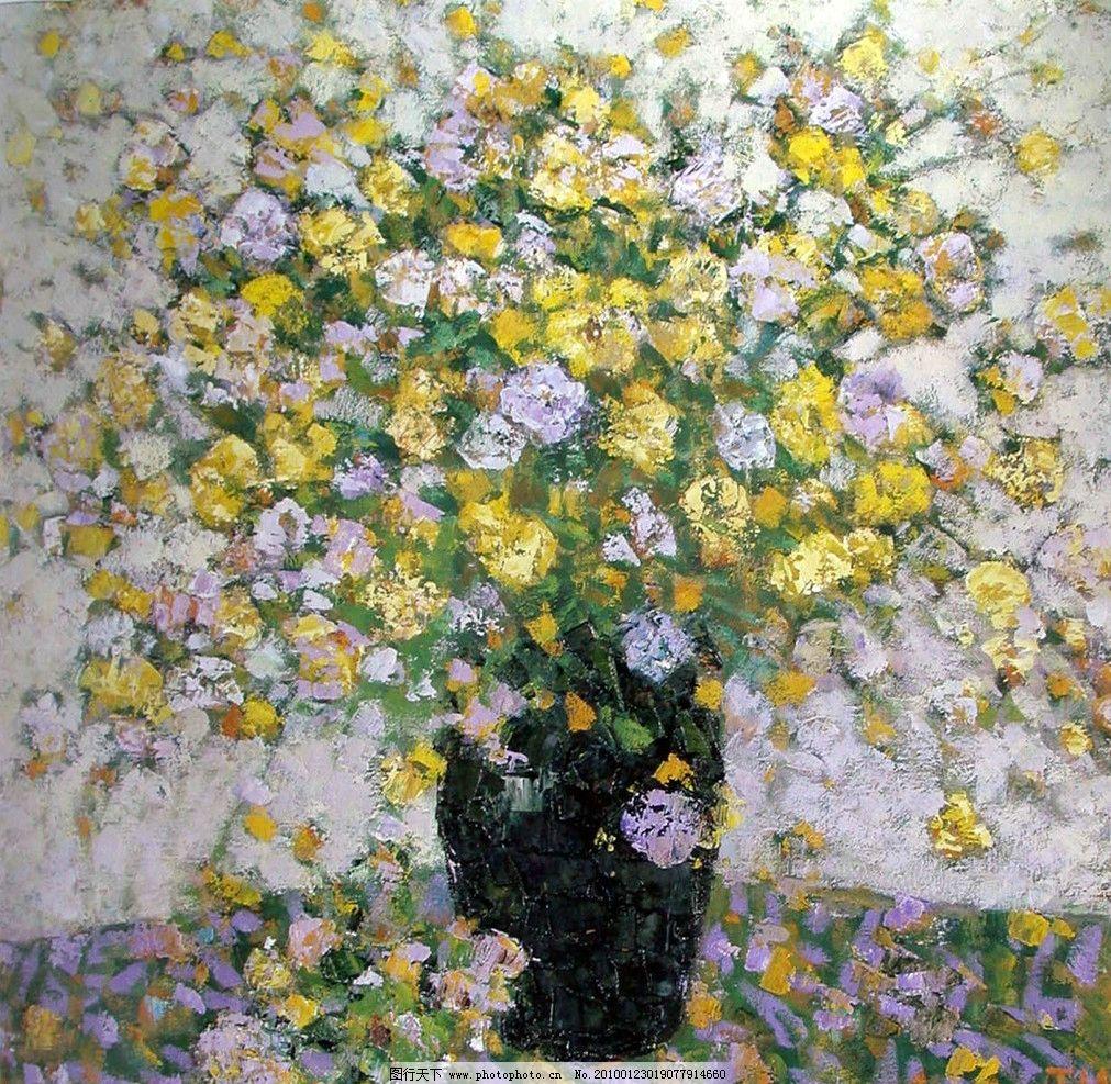 油画静物 油画风景 树 绘画书法 文化艺术
