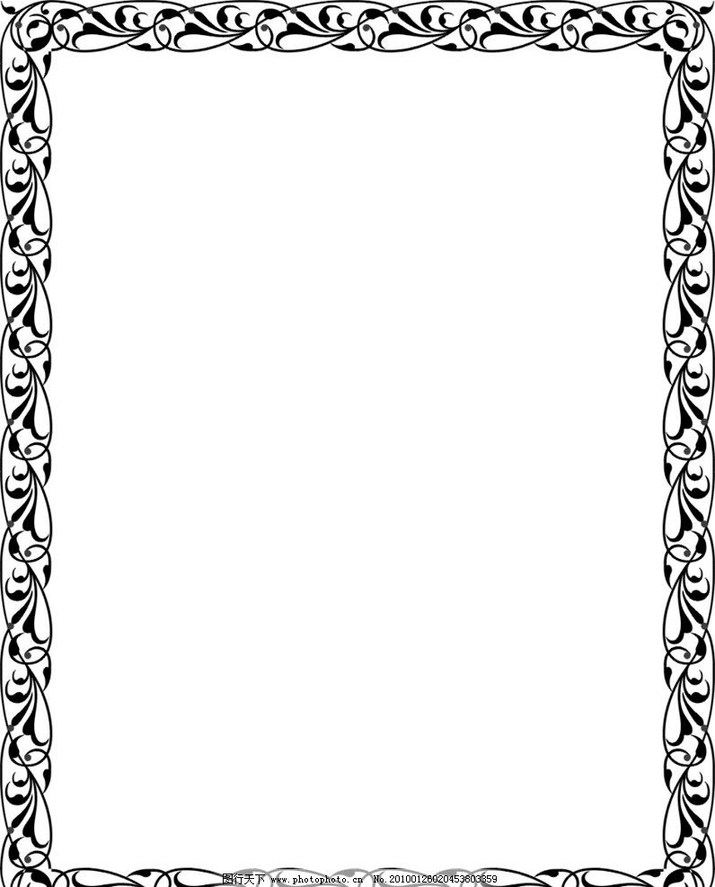 ppt 背景 背景图片 边框 模板 设计 相框 796_987 竖版 竖屏