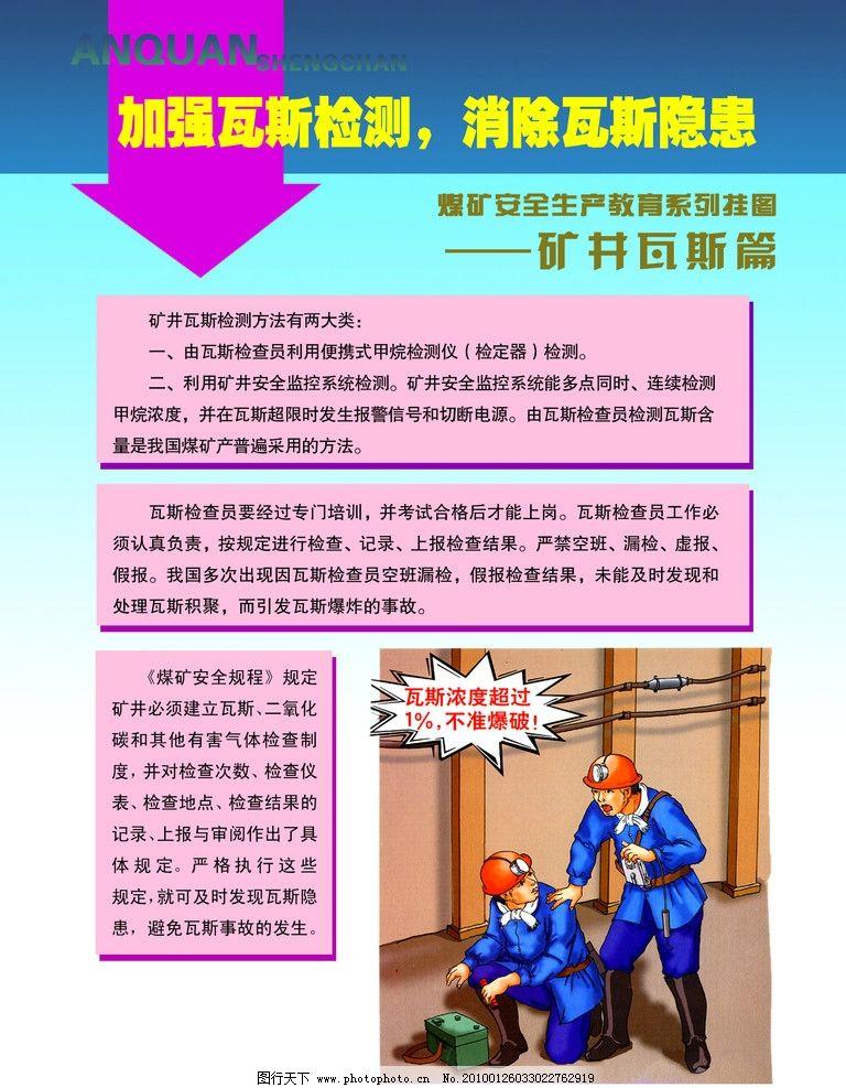 煤矿宣传画 煤矿 工人 采煤 矿井 瓦斯 海报 psd分层素材 源文件 72