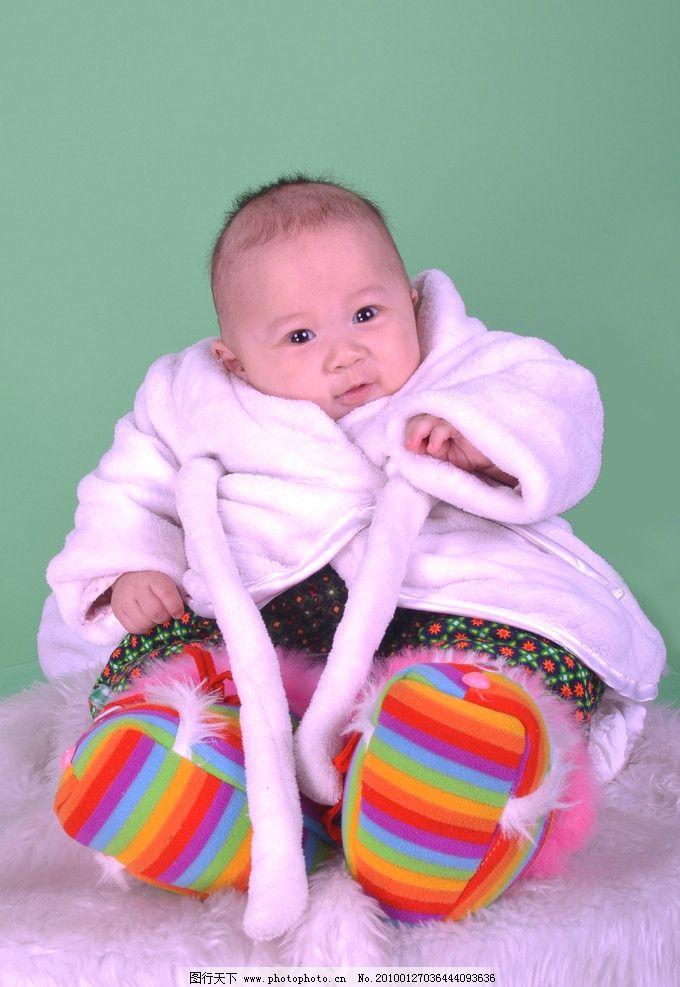 可爱小宝 宝宝百天照 儿童幼儿 人物图库 摄影 300dpi jpg