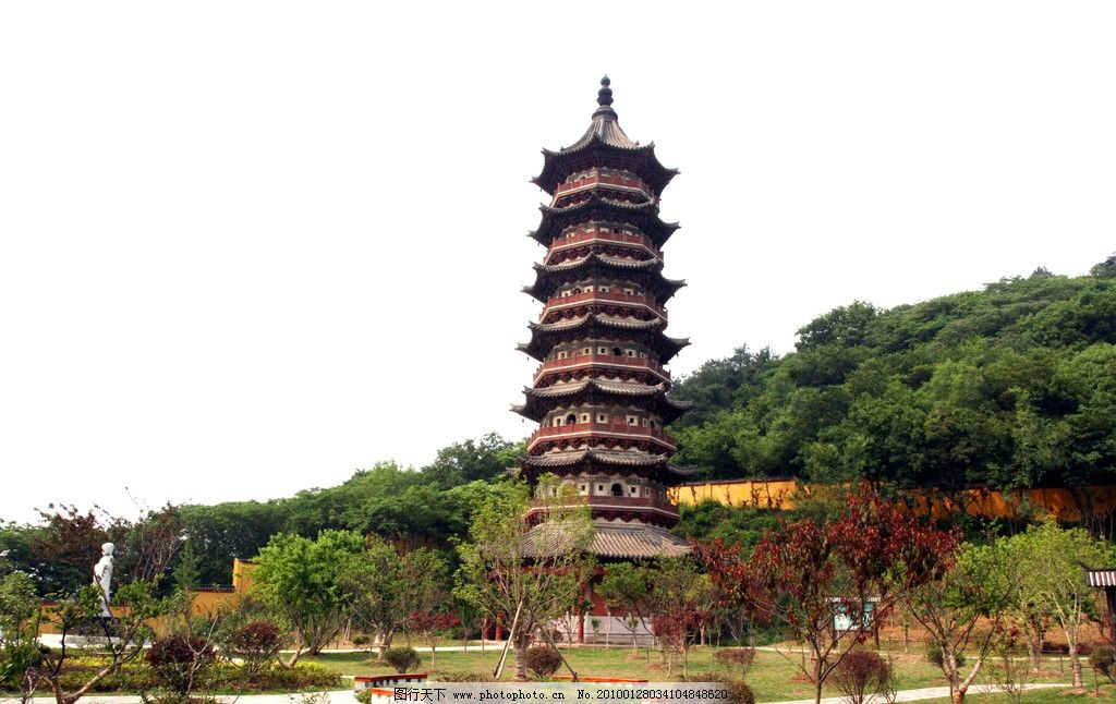 牛首山摄影图片 牛首山 塔 寺院 寺庙 风景 摄影图片 自然风景 旅游