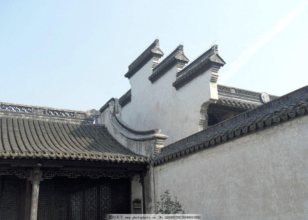 江南民居 水乡 建筑 亭台楼阁 高清 瓦房 小桥 走进江南 自然风景