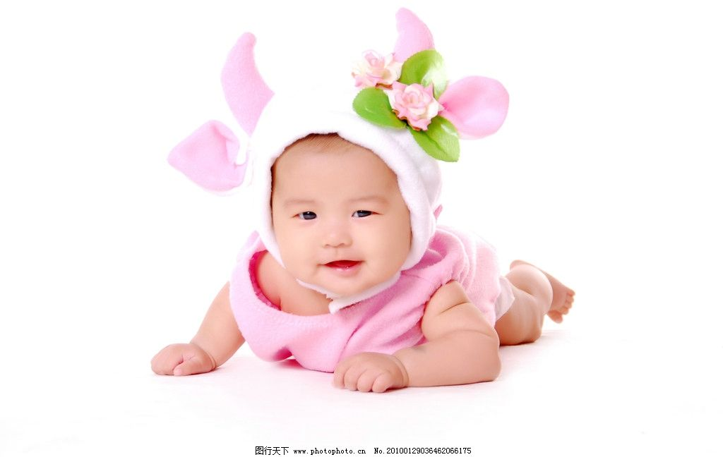 可爱宝宝 帽子 衣服 儿童幼儿 人物图库 摄影