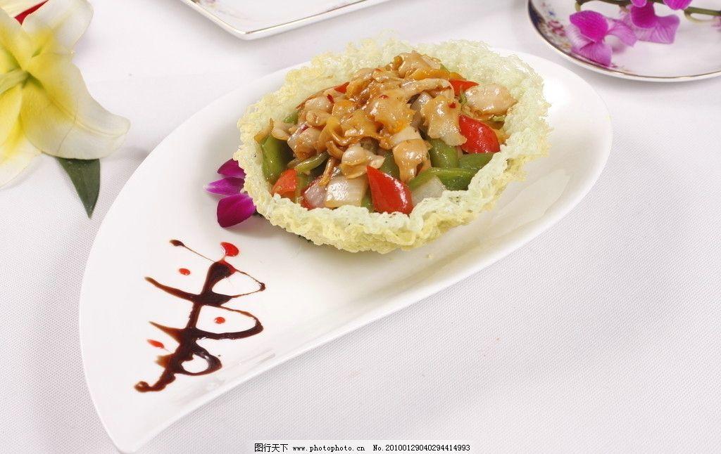 精美菜品 百花长寿海螺片 菜肴 菜品 炒菜 海鲜 海螺 菜谱 菜单 传统