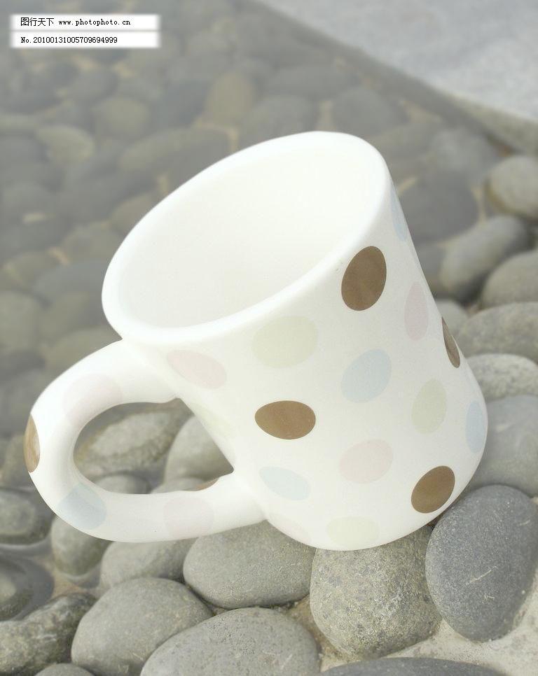 彩点马克杯图片素材下载 彩点马克杯 杯子 茶杯 咖啡杯 杯具 大手柄