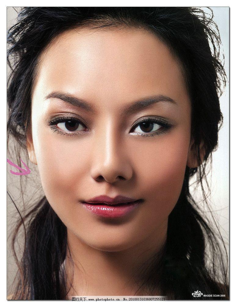 美人志 美女 头像 彩妆 女性女人 人物图库 摄影