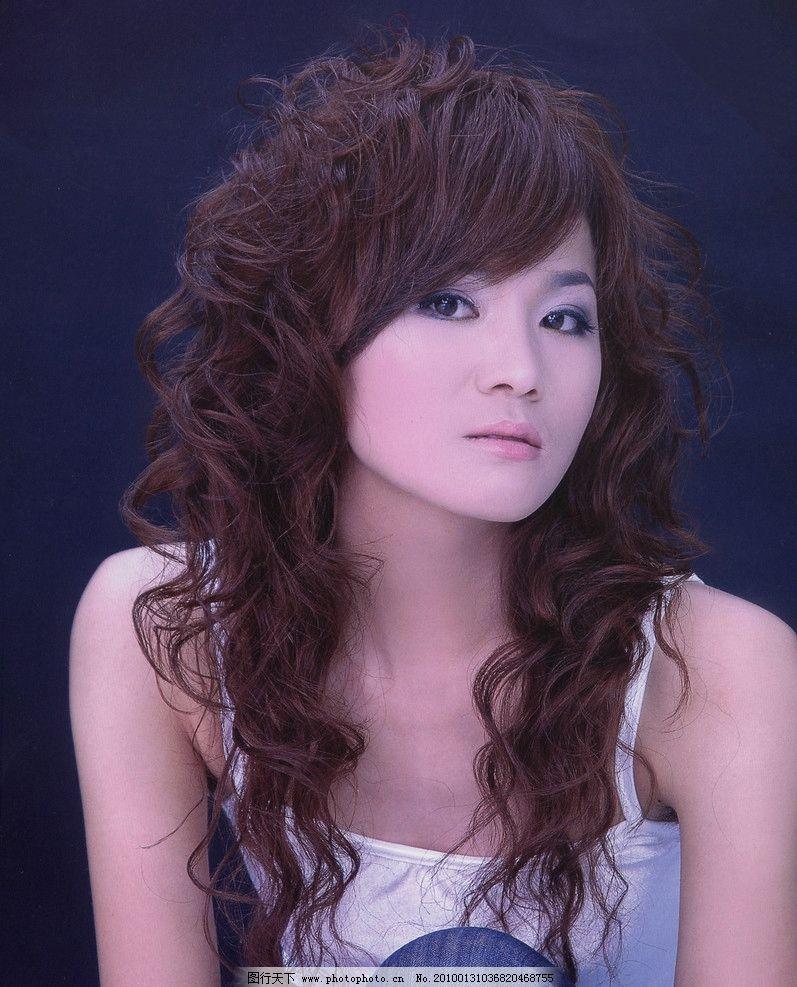 美容美发 发型 美女 发型设计 剪发 女性女人 摄影图片