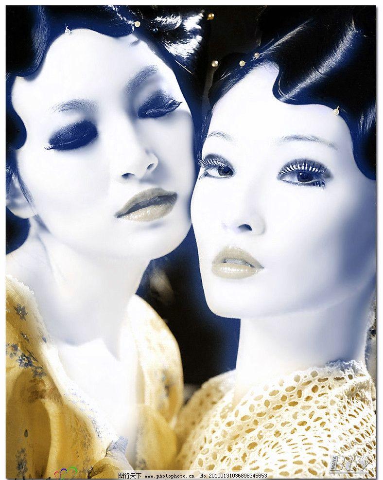 时尚 美女 摄影 女性女人 人物图库