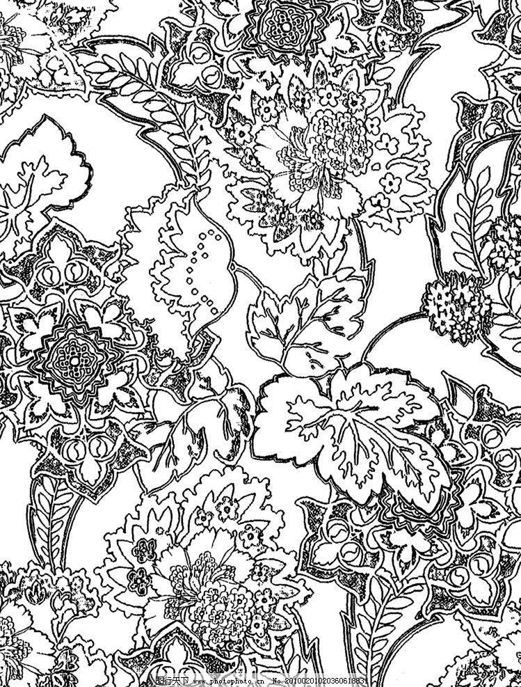 欧洲古典图案2 韩国图纹 绘画 爱心 道路 彩色 铅笔 绘心 海浪 花边