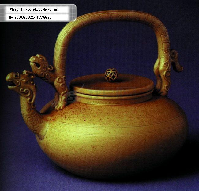 青铜茶壶 青铜茶壶免费下载 古代 铜器 艺术品 图片素材 风景生活旅游