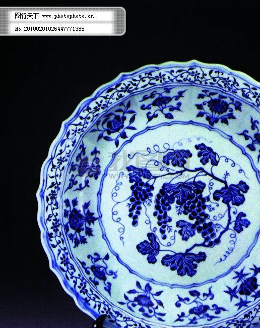 青花瓷器 青花瓷器免费下载 陶瓷 艺术品 图片素材 风景生活旅游餐饮