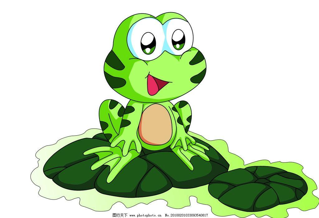 青蛙图片 青蛙 荷叶 大眼睛 绿色青蛙 psd分层素材 源文件 300dpi psd