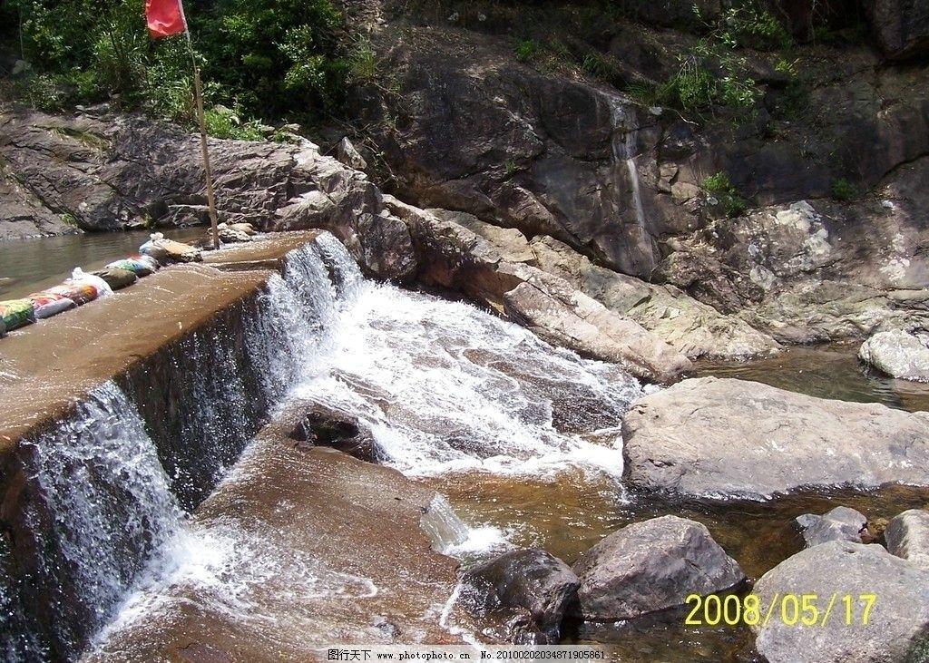 福州十八重溪 旅游圣地 清澈溪水 福州风景名胜 自然风景 自然景观