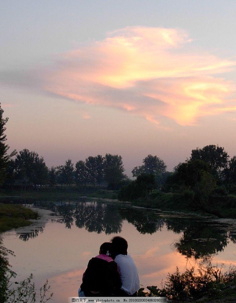 情晨 沧州 狮城 早晨 日出 情侣 沧州风景 自然风景 自然景观 摄影 30