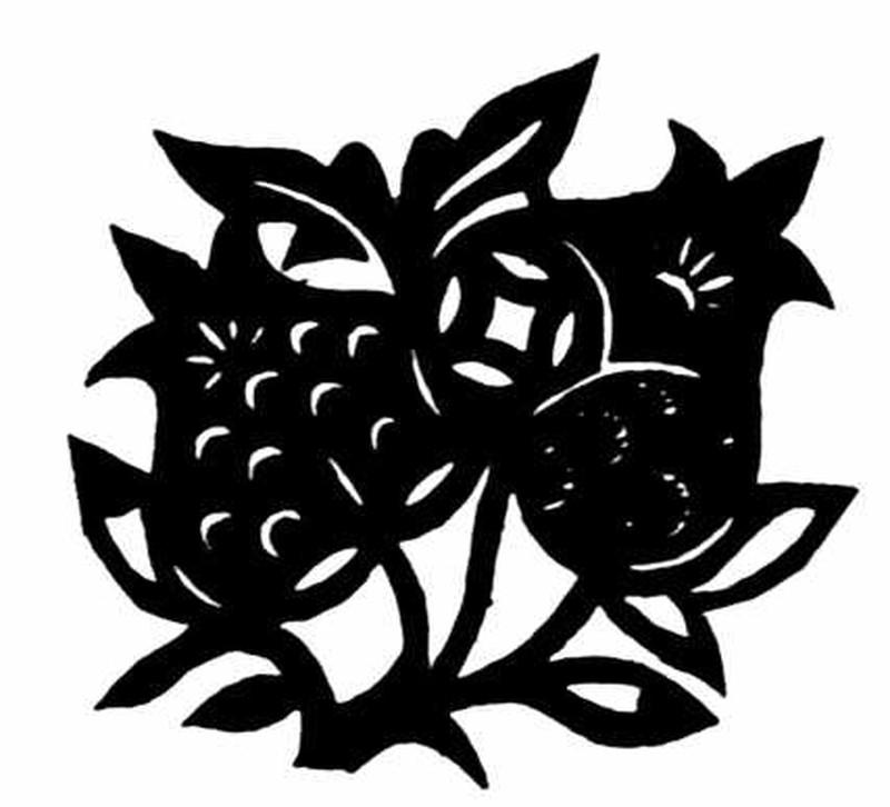 植物图案花纹0100 中国民间艺术