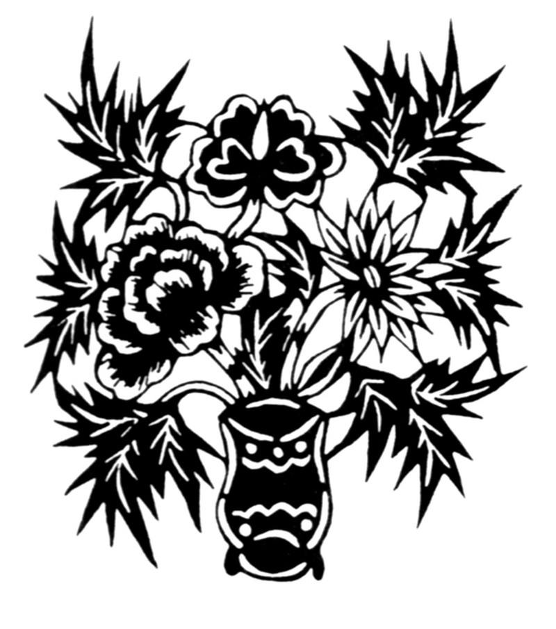 中国民间艺术 植物图案花纹
