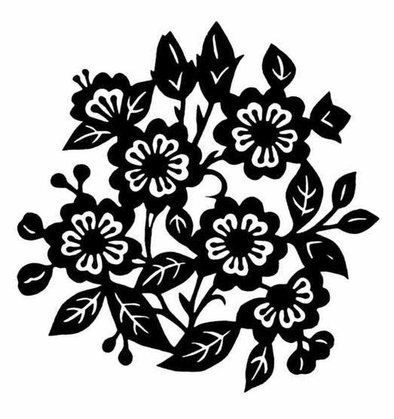 植物图案花纹0089 中国民间艺术