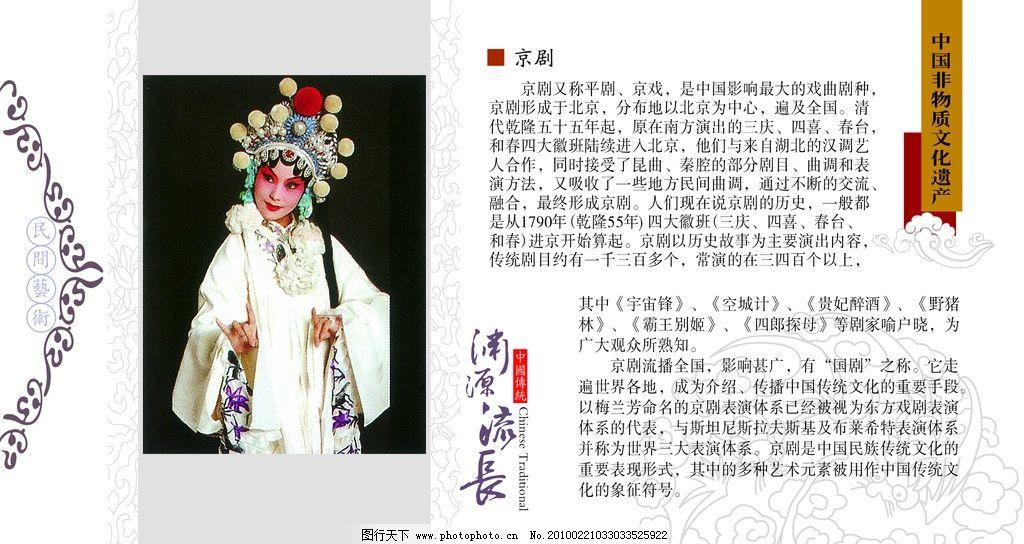 京剧版手绘花边